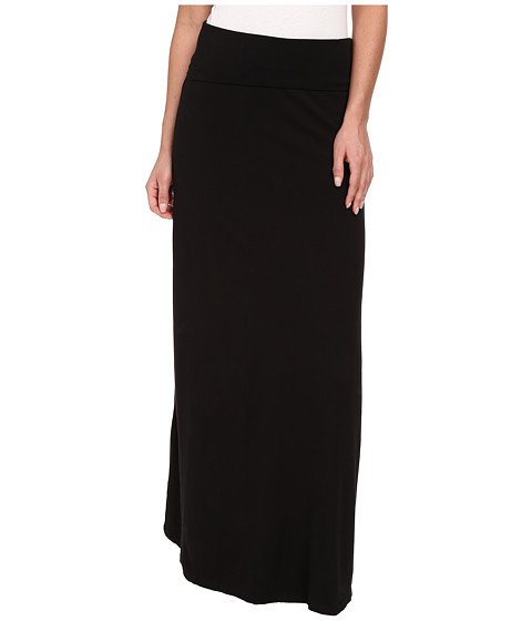Splendid - Modal Maxi Skirt (Black) Women