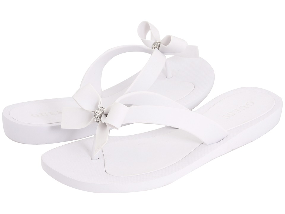 GUESS - Tutu (White) Women's Sandals