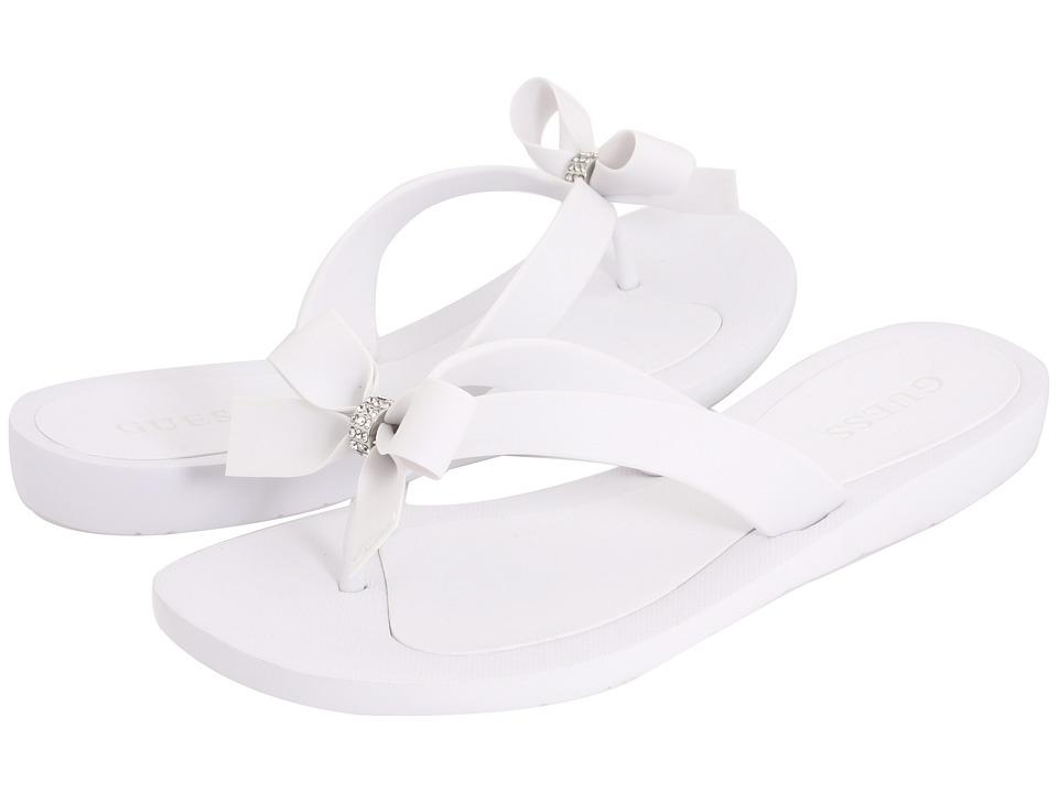 GUESS - Tutu (White) Women's Sandals