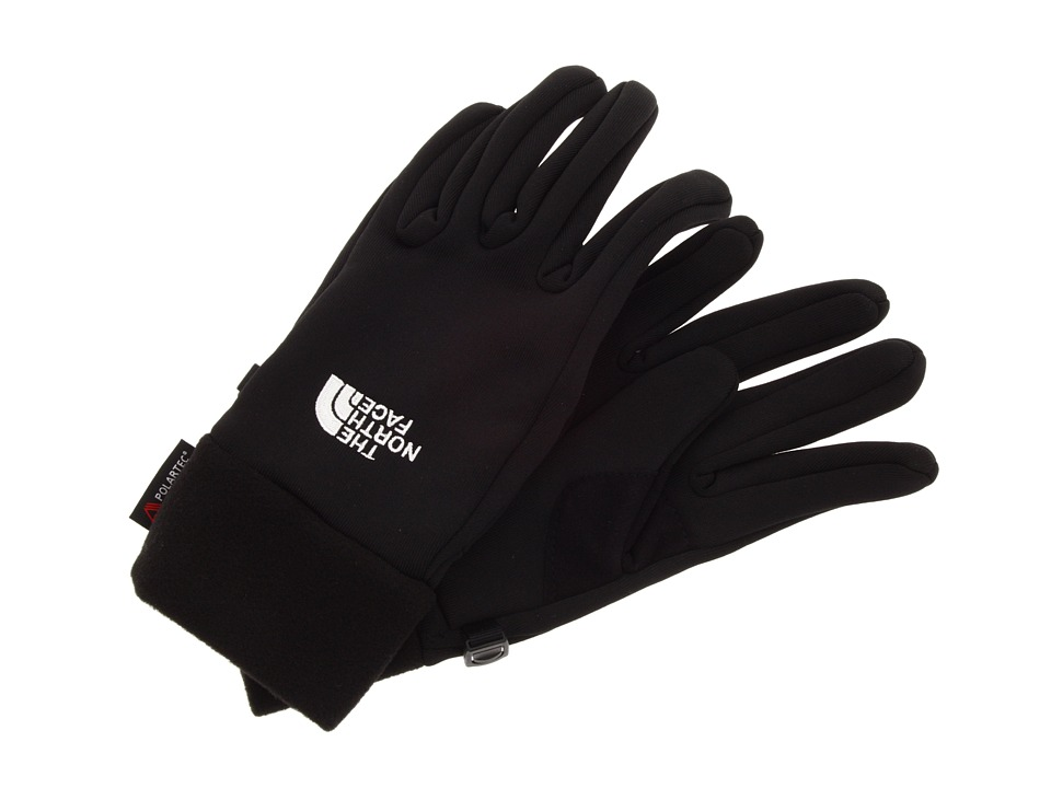 The North Face - Women's Power Stretch Glove (TNF Black) Extreme Cold Weather Gloves