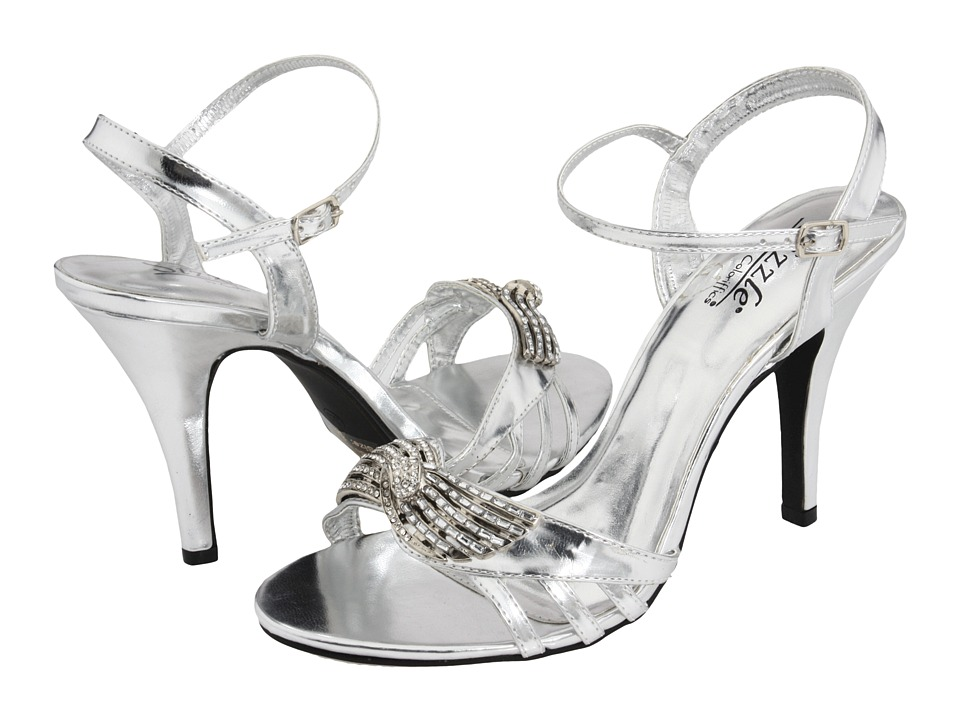 Coloriffics - Lisbon (Silver) Women's Dress Sandals