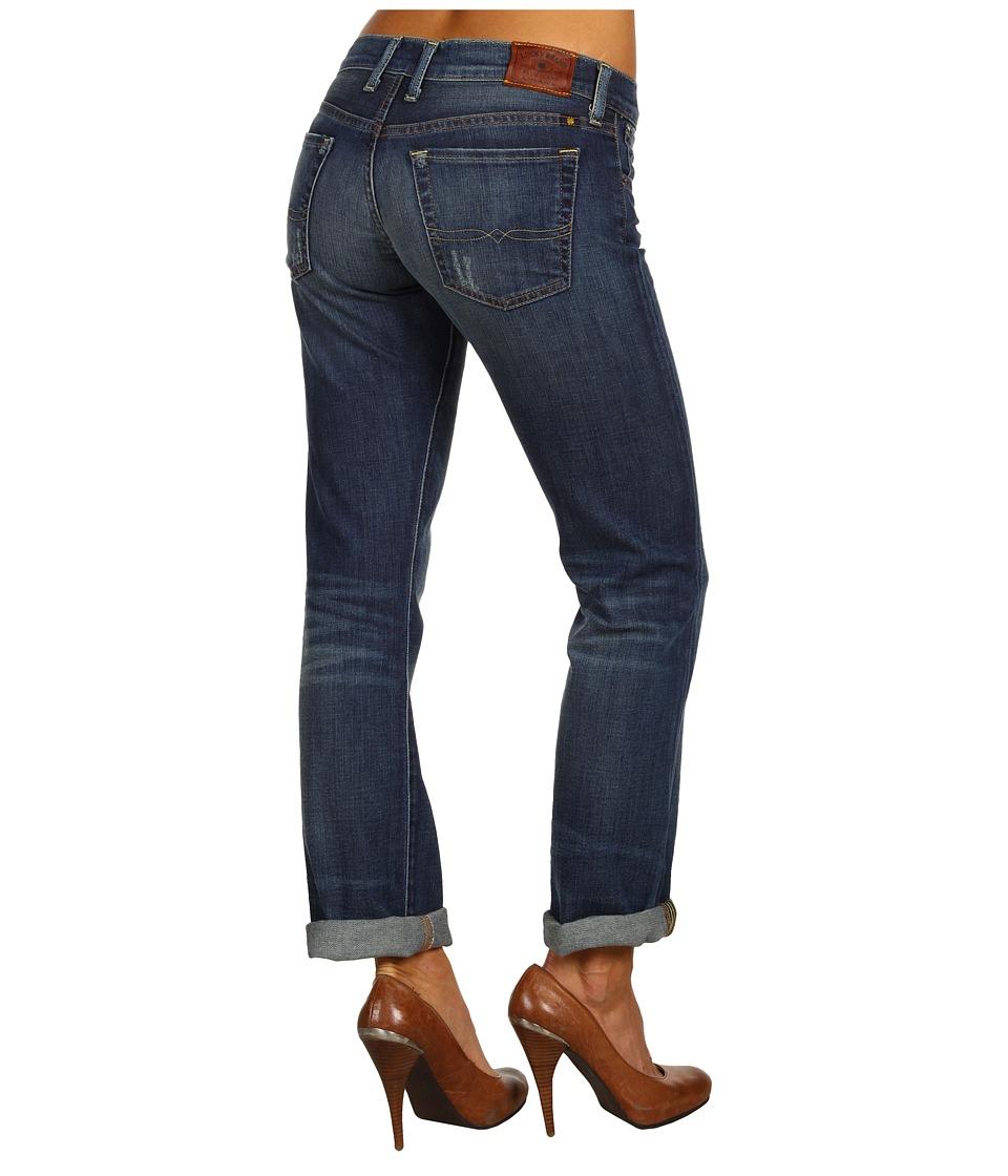 Lucky Brand Sienna Tomboy Womens Jeans (Blue)