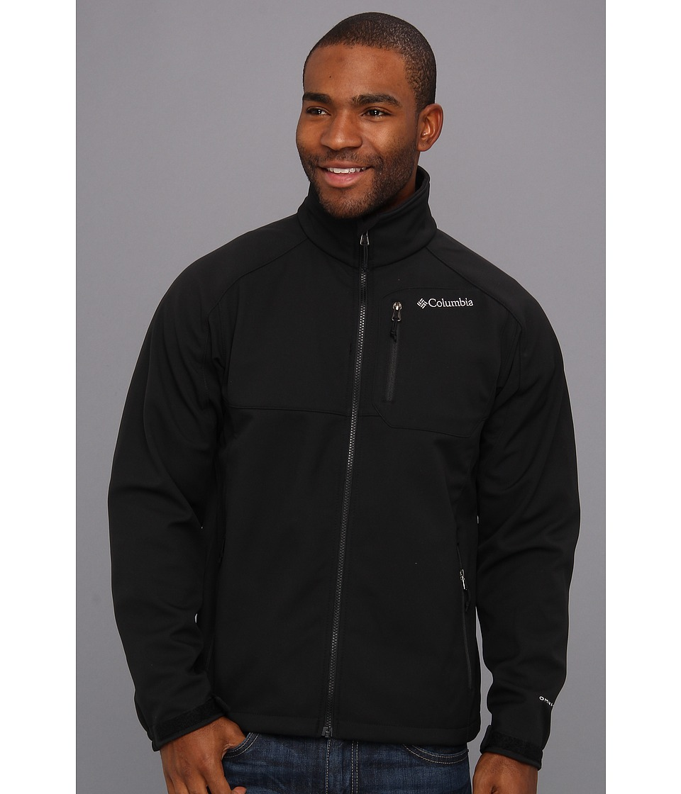 Columbia - Ascender II Softshell (Black) Men's Coat