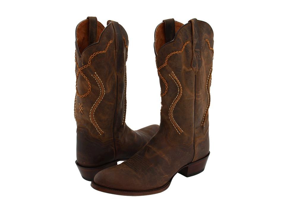 Dan Post - Albany (Tan Mad Cat) Cowboy Boots
