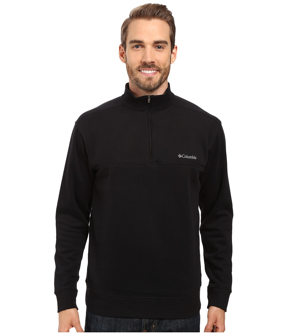 Columbia - Hart Mountain II Half Zip (Black) Men's Jacket