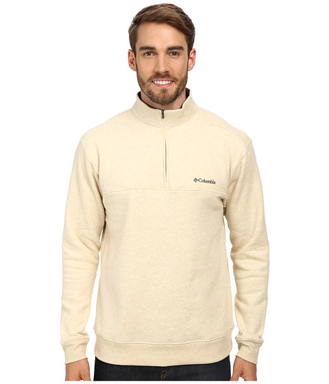 Columbia - Hart Mountain II Half Zip (Oatmeal) Men