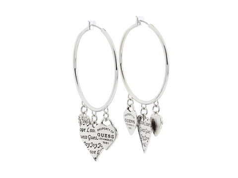 GUESS - 179178-21 (Abalone/Silver) Earring