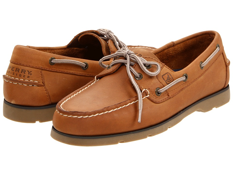Sperry - Leeward 2 Eye (Sahara) Men's Lace Up Moc Toe Shoes