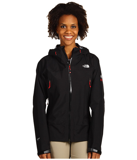 The North Face - Point Five Jacket (TNF Black/TNF White Zip Pops) Women