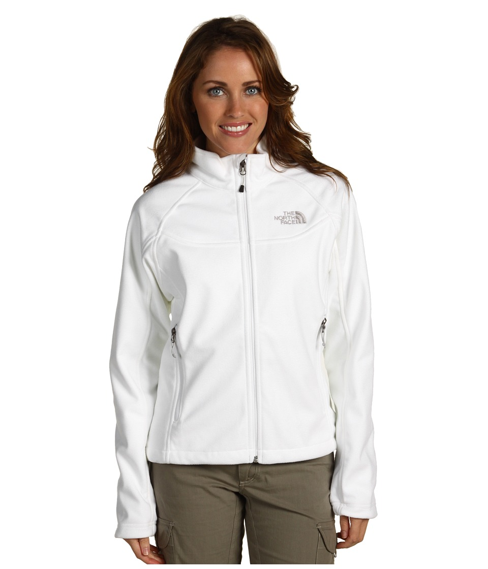 The North Face - Windwall 1 Jacket w/ Fleece Backer (TNF White) Women's Coat