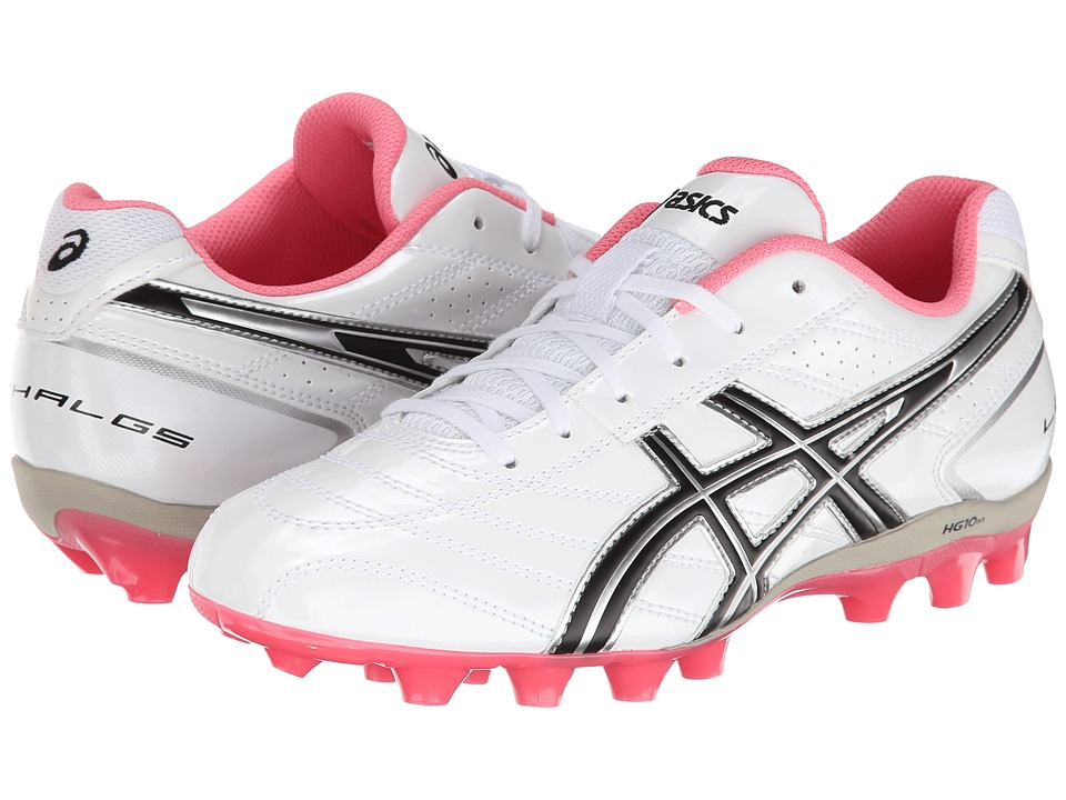 ASICS Kids - Lethal GS 4 (Little Kid/Big Kid) (White/Black/Pink) Girls Shoes
