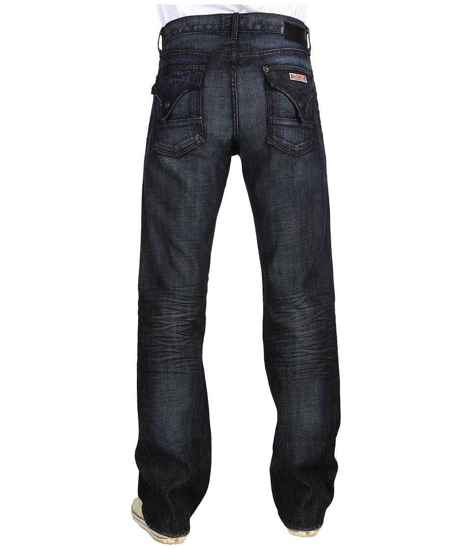 Hudson - Fletcher Flap Pocket Relaxed Boot in Slater (Slater) Men's Jeans