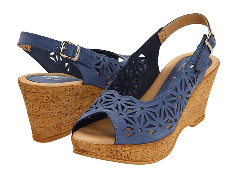 Spring Step - Abigail (Blue Nubuck) Women