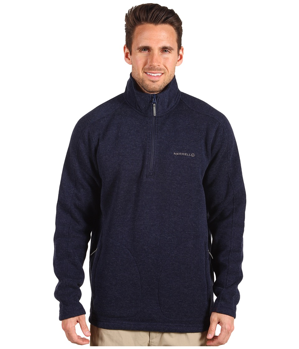 Merrell - Manapouri Half Zip (Ink Heather) Men