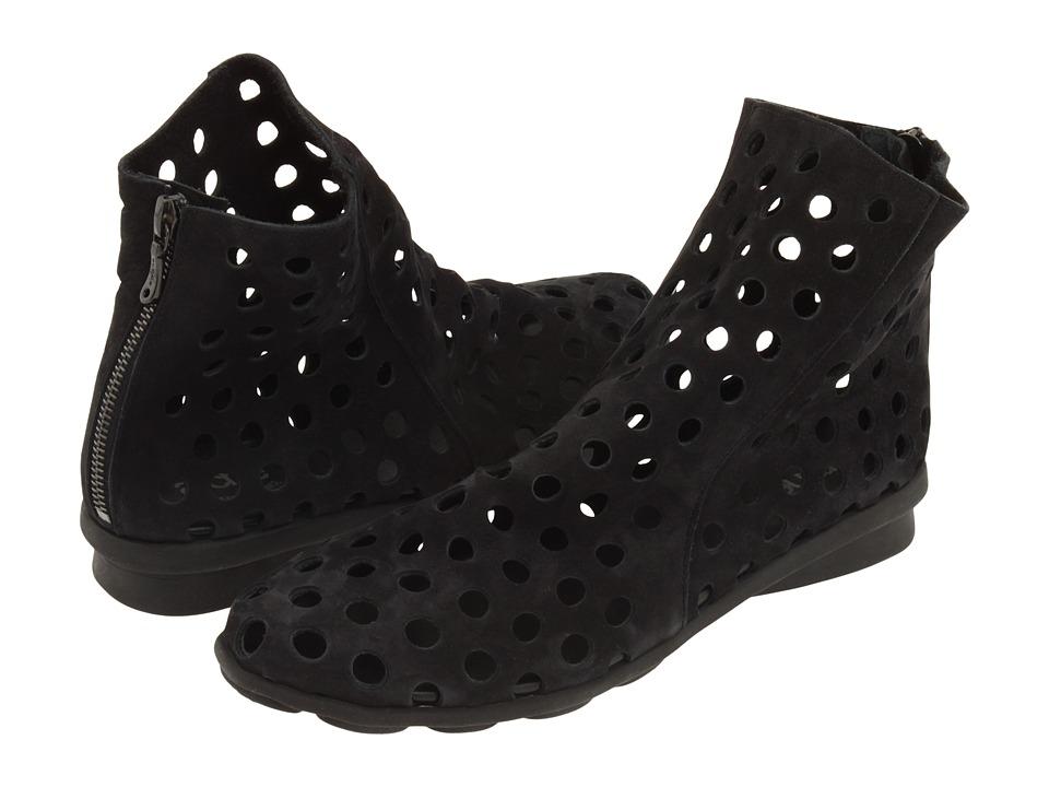 Arche - Dato (Noir Nubuck) Women's Zip Boots