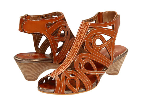 Spring Step - Flourish (Natural Leather) Women