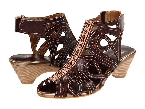 Spring Step - Flourish (Brown Leather) Women's Sandals