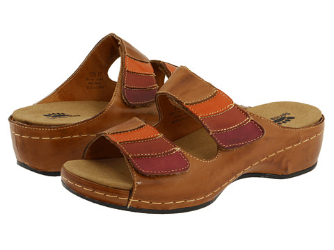 Spring Step - Toya (Brown Combo) Women's Sandals