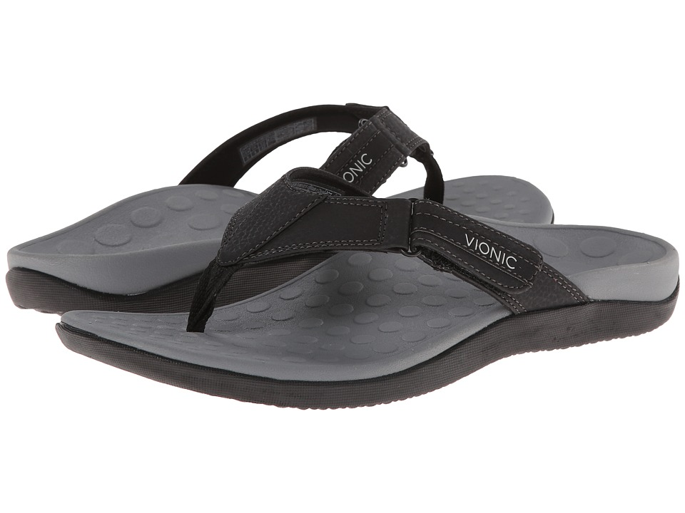 VIONIC - Ryder (Black/Grey) Men's Sandals