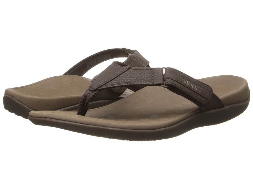 VIONIC - Ryder (Chocolate/Tan) Men's Sandals