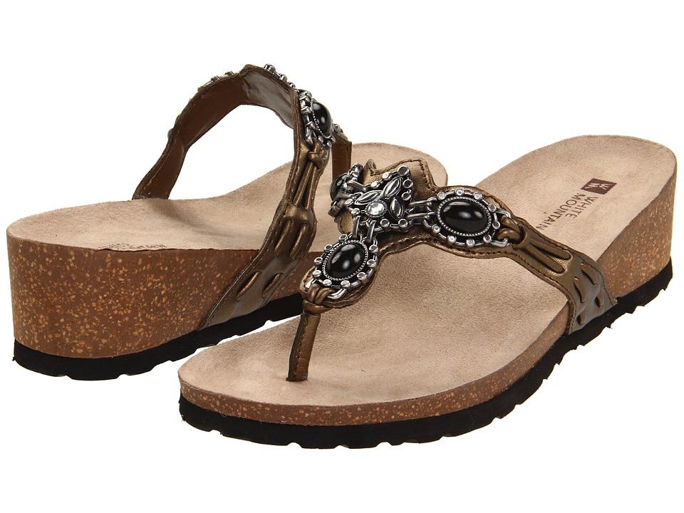 White Mountain - Cardenia (Bronze) Women's Slide Shoes