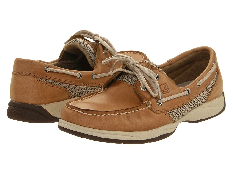 Sperry - Intrepid (Linen/Mesh) Women's Lace Up Moc Toe Shoes