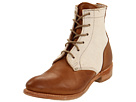 Vintage Shoe Company - Lilly Chukka (Tobacco/White Canvas) - Footwear