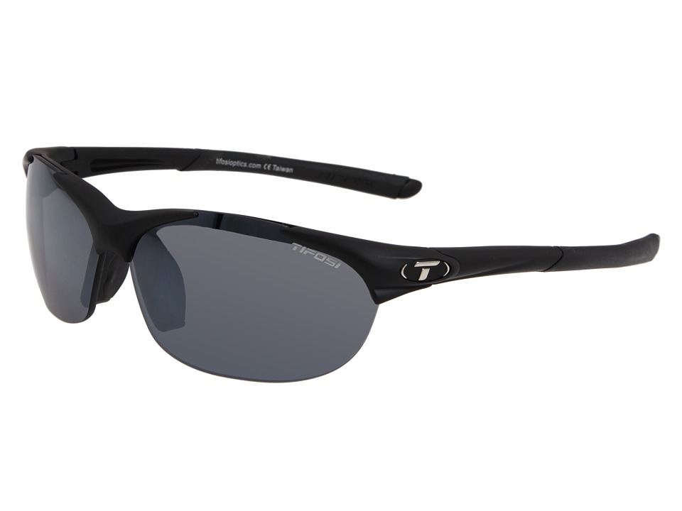 Tifosi Optics - Wisptm Interchangeable (Matte Black/Smoke AC Red/Clear Lens) Sport Sunglasses