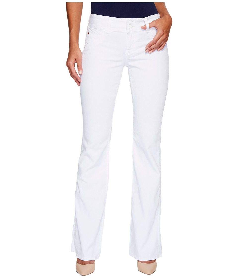 Hudson - Supermodel Signature Boot 36 Inseam in White (White) Women's Jeans