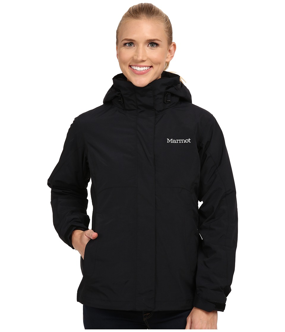 Marmot - Cosset Component Jacket (Black) Women's Coat