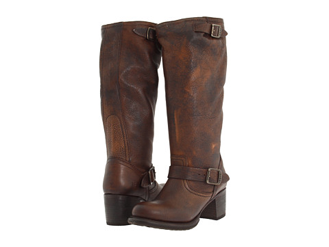 Frye - Vera Slouch (Maple Calf Shine Vintage) Cowboy Boots