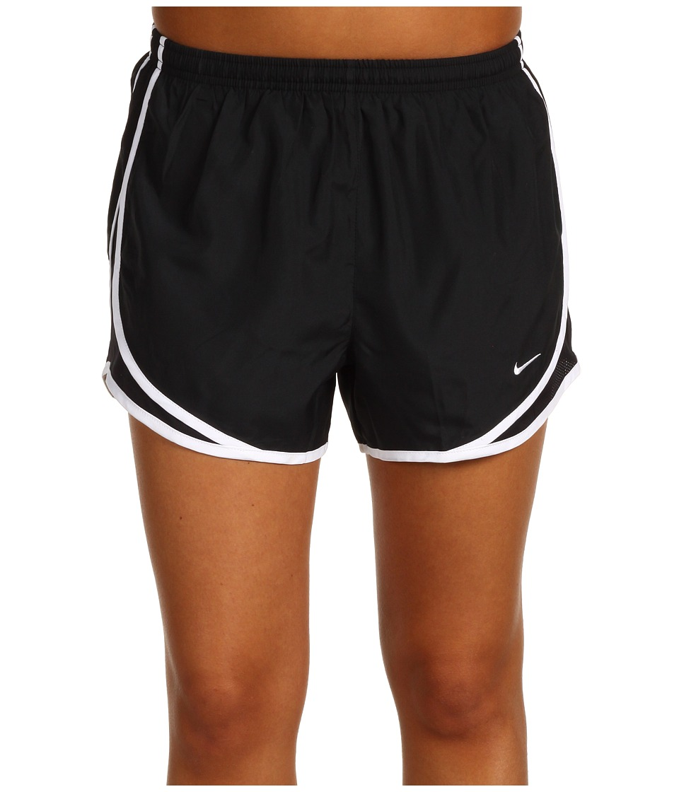 Nike - Dri-FIT Tempo Track 3.5 Short (Black/Black/White/White) Women's Shorts