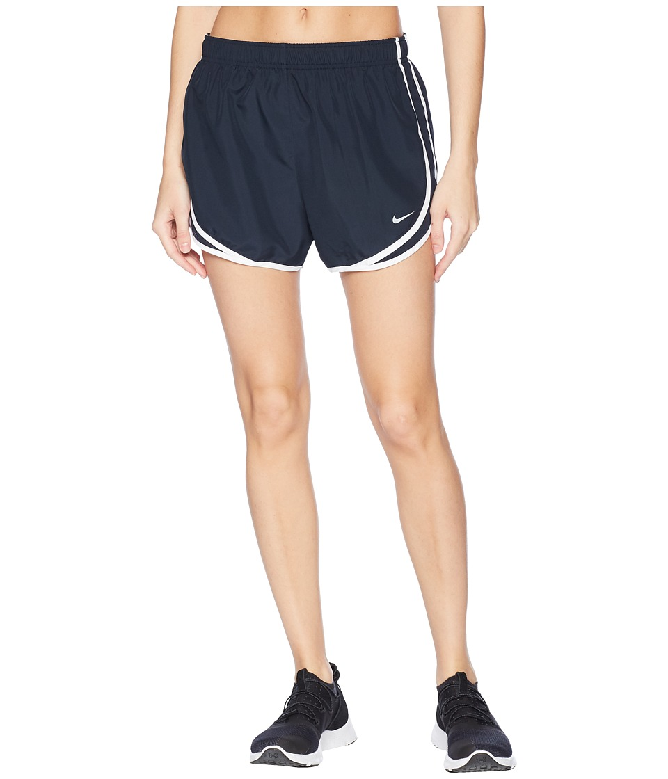 Nike - Dri-FIT Tempo Track 3.5 Short (Dark Obsidian/Dark Obsidian/White/White) Women's Shorts