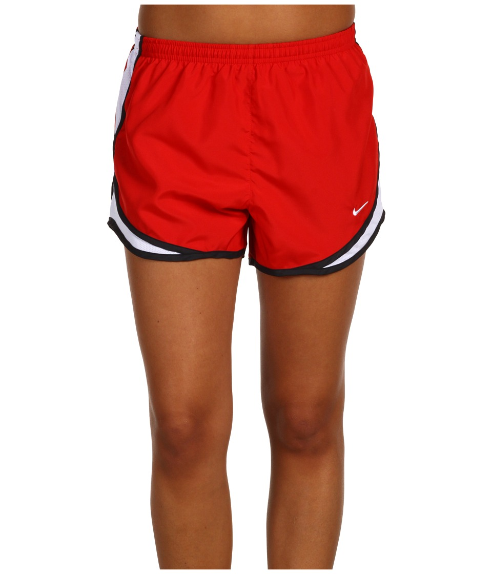 Nike - Dri-FIT Tempo Track 3.5 Short (Sport Red/White/Black/White) Women's Shorts
