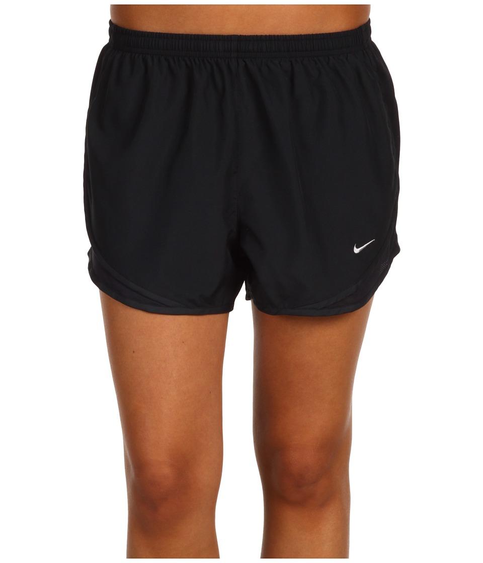 Nike - Dri-FIT Tempo Track 3.5 Short (Black/Black/Black/Matte Silver) Women's Shorts