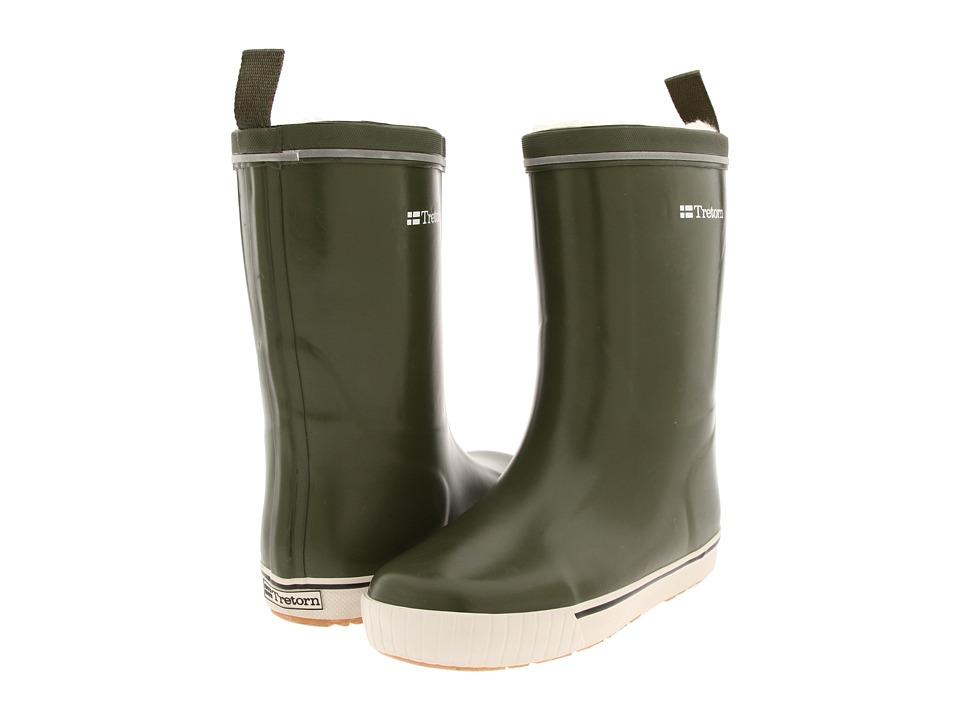 Tretorn Skerry Metallic Rain Boot (Olive) Rain Boots