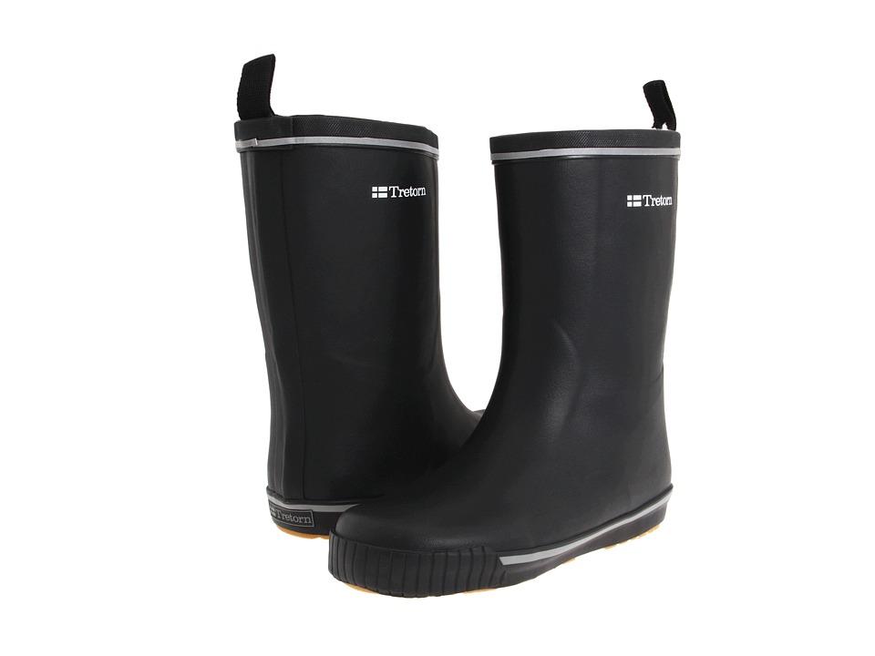 Tretorn - Skerry Metallic Rain Boot (Black/Black) Rain Boots