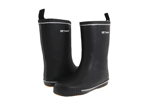 Tretorn - Skerry Metallic Rain Boot (Black/Black) Rain Boots