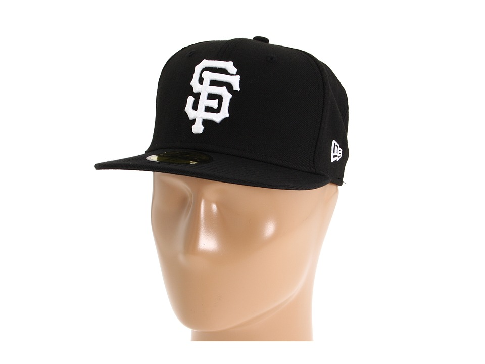 New Era - 59FIFTY San Francisco Giants (Black) Caps
