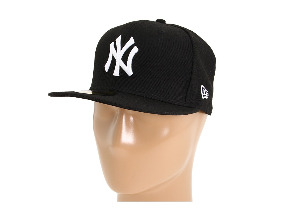 New Era - 59FIFTY New York Yankees (Black) Caps