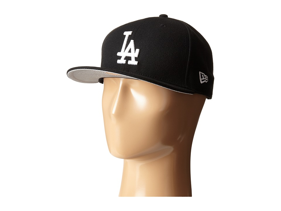 New Era - 59FIFTY Los Angeles Dodgers (Black) Caps