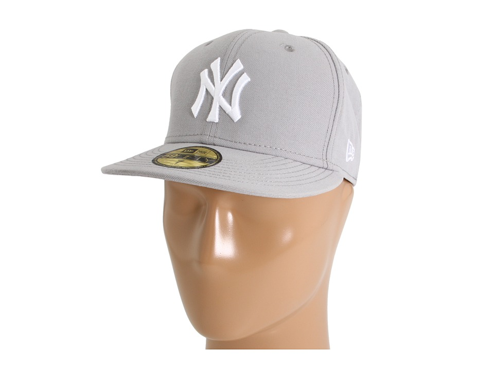 New Era - 59FIFTY New York Yankees (Gray/White) Caps