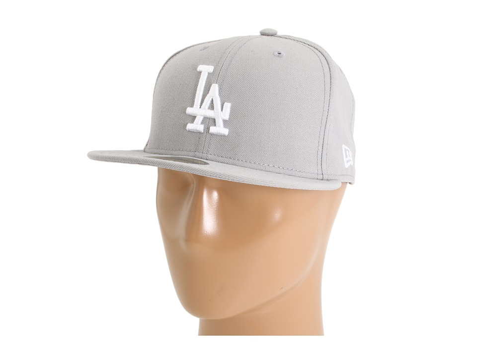 New Era - 59FIFTY Los Angeles Dodgers (Gray/White) Caps