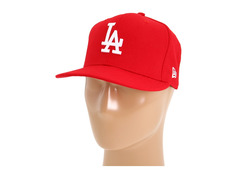 New Era - 59FIFTY Los Angeles Dodgers (Scarlet/White) Caps