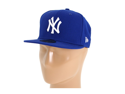 New Era - 59FIFTY New York Yankees (Royal/White) Caps