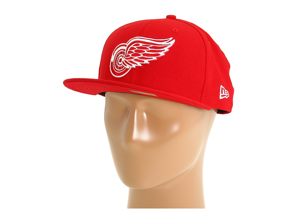 New Era - 59FIFTY(r) Detroit Red Wings (Red) Caps