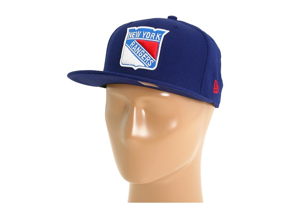 New Era - 59FIFTY(r) New York Rangers (Blue) Caps