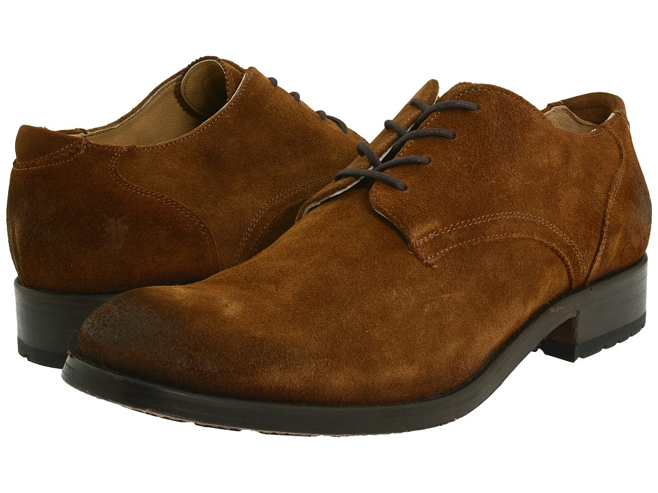 Frye - Jackson Oxford (Brown Suede) Men's Lace up casual Shoes