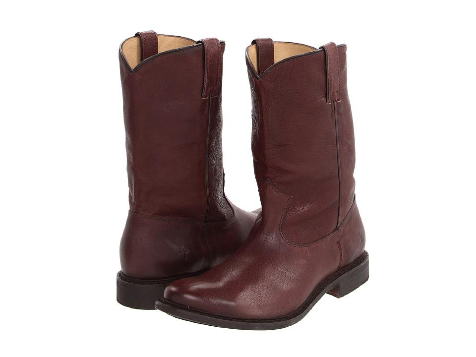 Frye - Marco Roper (Dark Brown Oiled Antique Soft Full Grain) Cowboy Boots