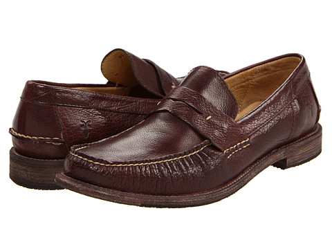 Frye - Otis Penny (Dark Brown Antique Soft Full Grain) Men